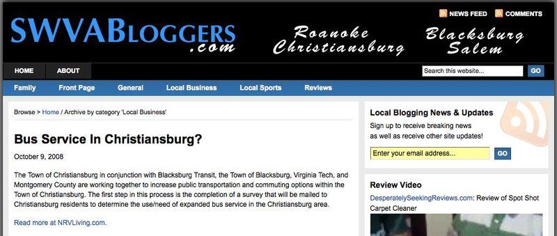 Local Business _ SWVA Bloggers