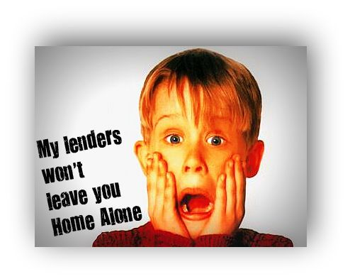 Lenders Home Alone