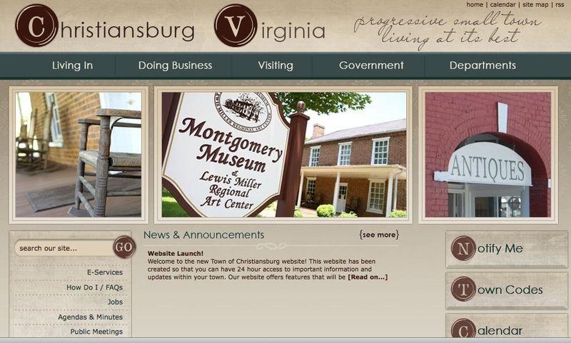 Christiansburg, VA - Official Website
